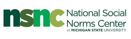 logo for the National Social Norms Center which is housed at Michigan State University