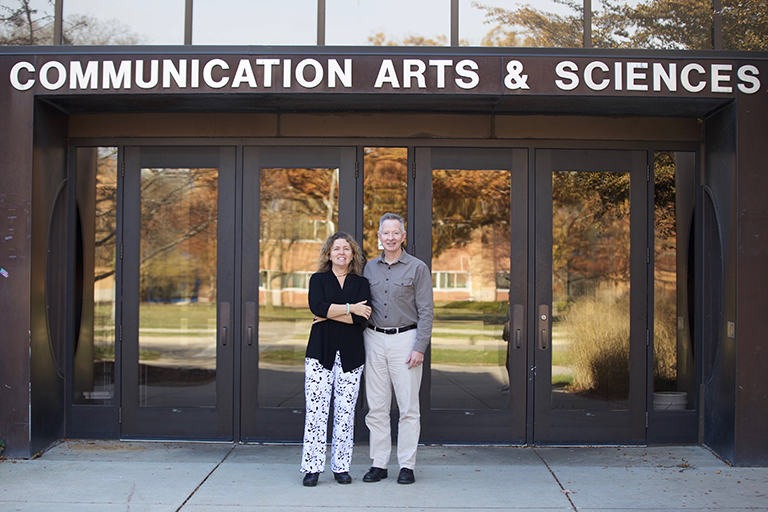 Communication professors receive grant for health research